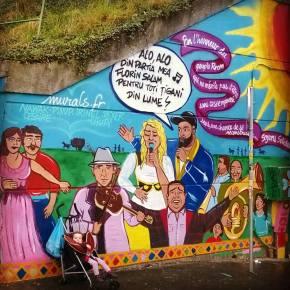 L'association Murals au Jour de la sirène, Mars2016.