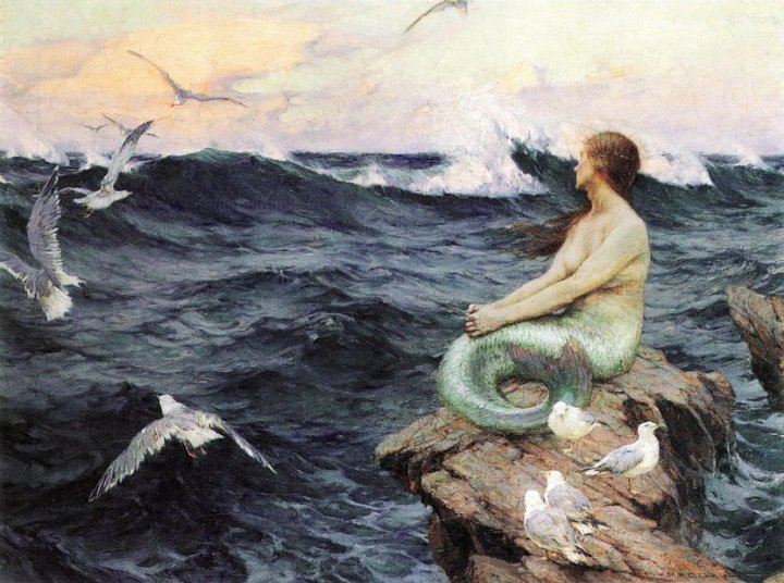 Charles Murray Padday - une sirène