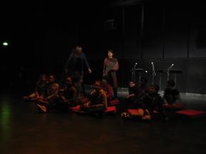 Ateliers son et écriture au théâtre Jean-Vilar,Vitry.